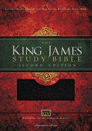 KJV Study Bible Black Leather Large Print