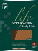 NLT Life Application Study Bible: Tan & Brown, TuTone Imitation Leather