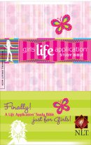 NLT Girls Life Application Study Bible : Paperback