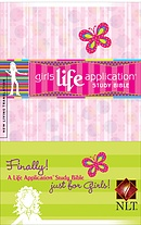 NLT Girls Life Application Study Bible : Hardback