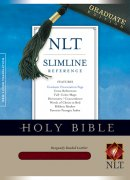 NLT Slimline Reference Bible: Burgundy, Bonded Leather, Graduate Edition
