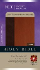 NLT Pocket Thinline New Testament with Psalms and Proverbs: Tan, Imitation Leather