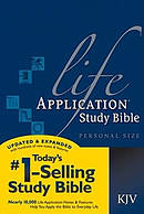 KJV Life Application Study Bible Personal Size Paperback