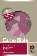 NLT Compact Camouflage Bible: Pink, Canvas