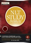 NLT Study Bible: Burgundy, Bonded Leather