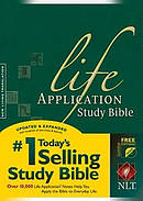 NLT Life Application Study Bible: Hardback, Thumb Indexed
