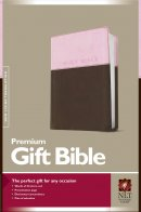 NLT Premium Gift Bible: Pink & Brown, Leatherlike
