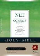 NLT Compact Bible: Black, Imitation leather, thumb index edition