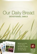 NLT Our Daily Bread Devotional Bible Hardback