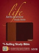 NIV Life Application Study Bible Brown Imitation Leather Thumb Indexed