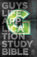 NLT Guys Life Application Study Bible: Paperback