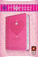 Nlt Girls Lasb Pink Heart Lthlk