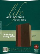NLT Life Application Study Bible: Tan Brown, LeatherLike