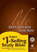 HCSB Life Application Study Bible: Hardback, Thumb Indexed