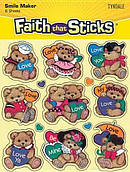 Bears And Hearts Stickers