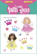 Gods Little Princess Stickers