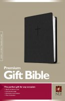 NLT Premium Gift Bible Black Imitation Leather