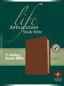 NLT Life Application Study Bible: Midtown Brown, Leatherlike, Thumb Indexed