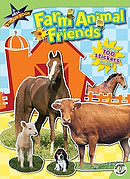 Farm Animal Friends: A Mega Sticker Book [With Sticker(s)]