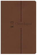 NKJV Chronological Bible: Milk Chocolate, Imitation Leather