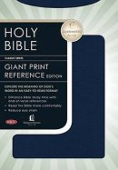 NKJV Giant Print Reference Bible: Blue, Leatherflex