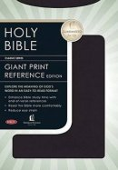 NKJV Giant  Print Reference Bible: Black, Leathersoft