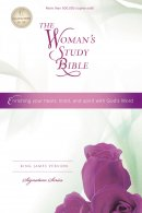 Woman's Study Bible-KJV-Signature
