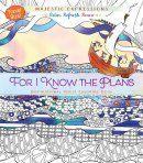 Adult Colouring Book: For I Know the Plans (Travel Size)