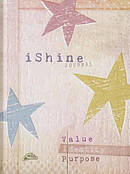 Journal: I Shine Value/Identity/Purpose (Elastic Band Book Marker)