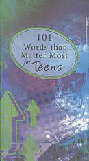 101 Words That Matter Most For Teens Gift Book