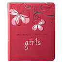 One-minute Devotions For Girls Lux Leather Edition