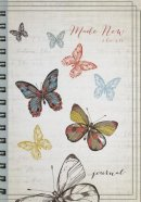 Made New Butterfly Wirebound Journal