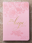 You Are My Hope Daily Planner 2017