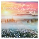 Great is Thy Faithfulness 2018 Calendar