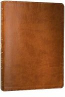 ESV Large Print Bible: Brown, TruTone