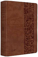 The ESV MacArthur Study Bible: Natural Brown, TruTone
