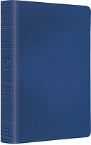 ESV Kids Compact Bible: True Blue, LeatherLike