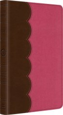 ESV Kids Thinline Bible: Chocolate Bubble, LeatherLike