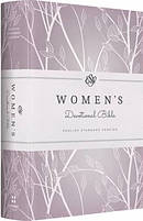 ESV Womens Devotional Bible Purple Hardback