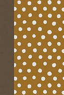 ESV Large Print Compact Bible (Cloth over Board, Polka Dots)