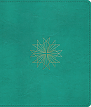 Esv Journaling Bible (Trutone, Teal, Resplendent Cross Desig