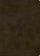ESV Study Bible (TruTone, Olive, Celtic Cross Design)