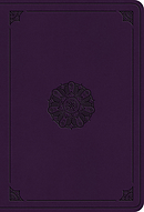 ESV Value Large Print Compact Bible (TruTone, Lavender, Emblem Design)