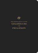 ESV Scripture Journal: Colossians and Philemon