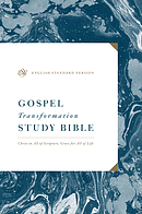 ESV Gospel Transformation Study Bible: Christ in All of Scripture, Grace for All of Life: Christ in All of Scripture, Grace for All of Life