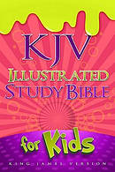 Kjv Illustrated Study Bible Pink