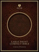 Hcsb Lp Compact Bible Dark Brown Cross I