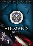 Hcsb Airmans Bible Lthlike Blu