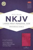 NKJV Large Print Personal Size Reference Bible, Pink