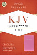 KJV Gift & Award Bible Pink Imitation Leather